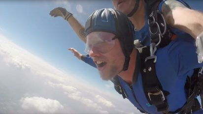 The First Skydive!