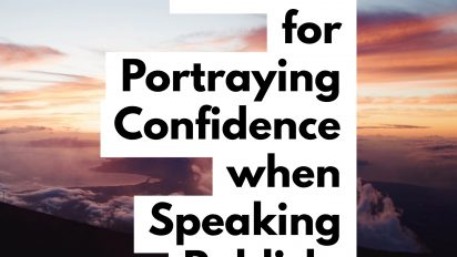 4 Simple Ways to Portray Confidence when Speaking Publicly