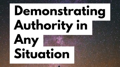 How to Demonstrate Authority in Any Setting